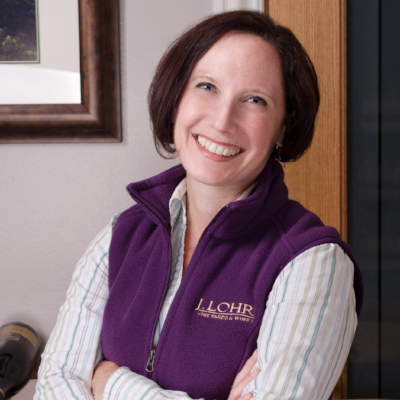 Kristen Barnhisel, M.S. Food Science/Enology - Winemaker, J. Lohr Vineyards & Wines, U.S.A.