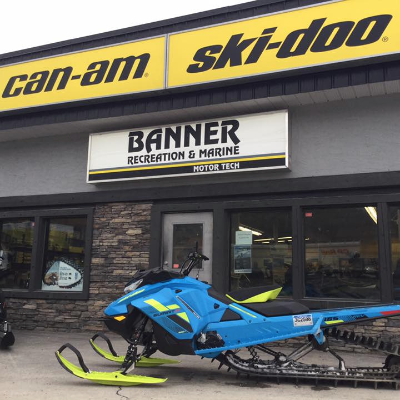 MOTOR TECH Enterprises LTD (Banner Rec) - Golden - Ski Doo Dealer