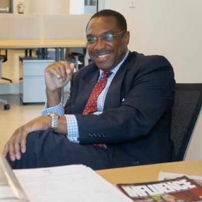 Cedric D. Fisher - Publisher, SA Influence Magazine