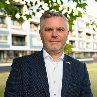 John Boeren - Representative at Large (Netherlands)