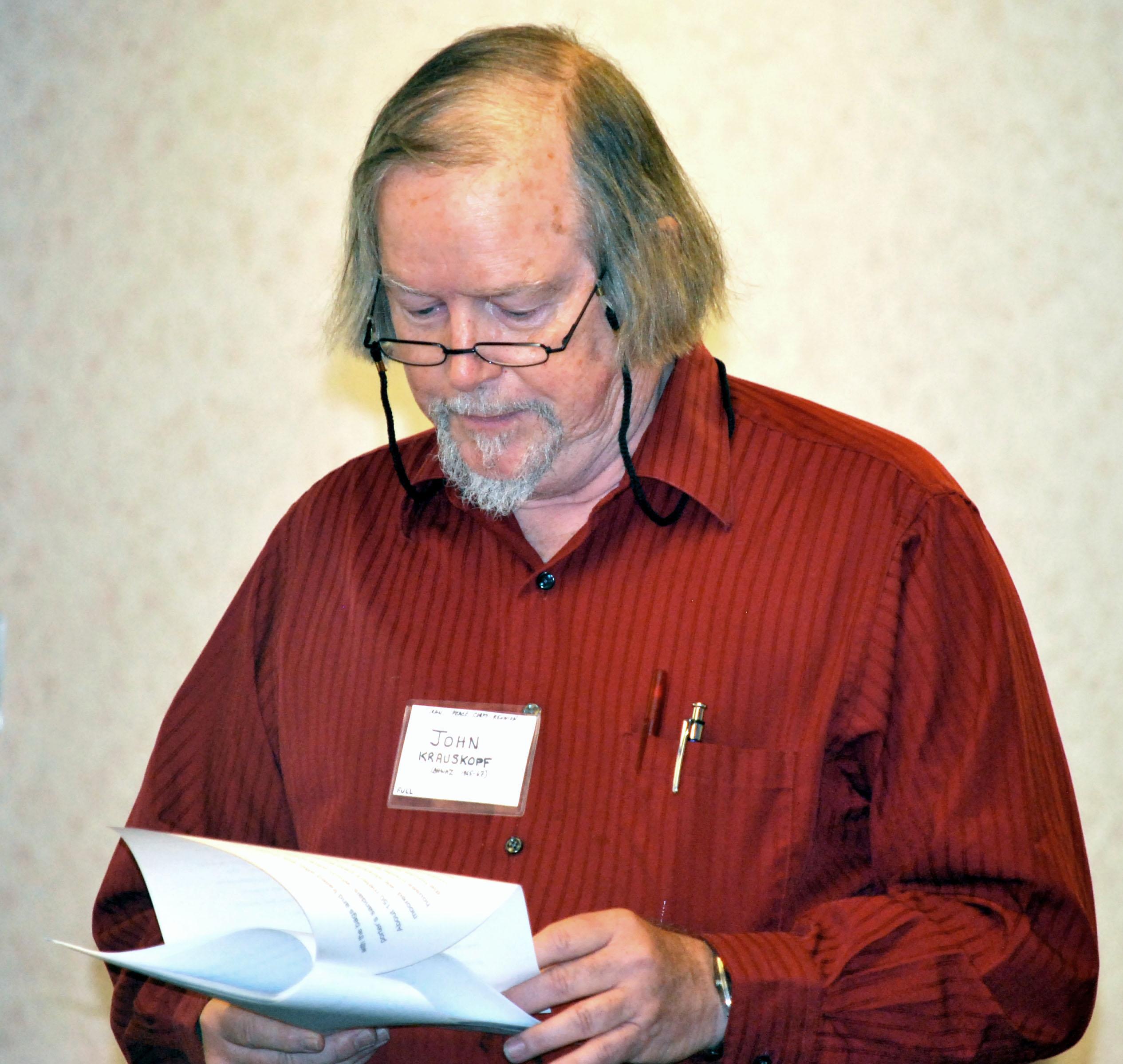 John Krauskopf - PCIA Anthology Editor